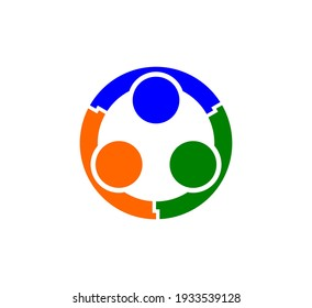 Social network people vector illustration on white background