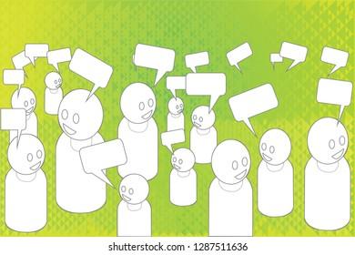 Social networking conversation