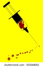 Social Poster. Drug addiction.
