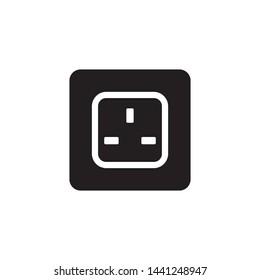 Socket Outlet Plug In Icon Vector Illustration