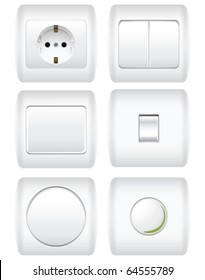 Sockets and switches set