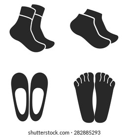 Socks Vector Icon