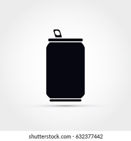 Soda can vector icon