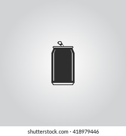 Soda cans icon vector
