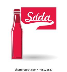 Soda concept with icon design, vector illustration 10 eps graphic.