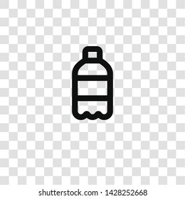 soda icon from miscellaneous collection for mobile concept and web apps icon. Transparent outline, thin line soda icon for website design and mobile, app development