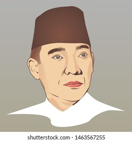 soekarno images stock photos vectors shutterstock https www shutterstock com image vector soekarno first president republic indonesia vector 1463567255