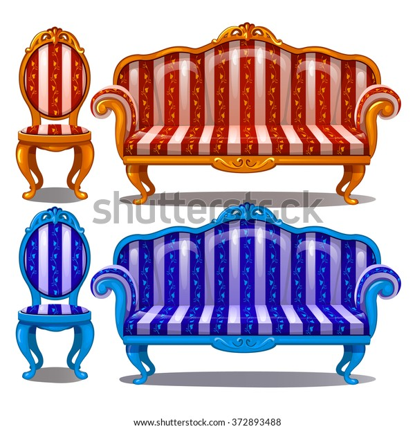 Magnificent Sofa Chair Retro Style Vector Stock Vector Royalty Free Machost Co Dining Chair Design Ideas Machostcouk