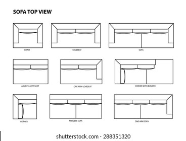 Furniture Top View Drawing Images Stock Photos Vectors Shutterstock