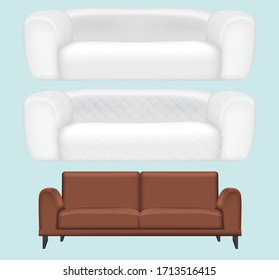 Sofas for decorating the beautiful living room