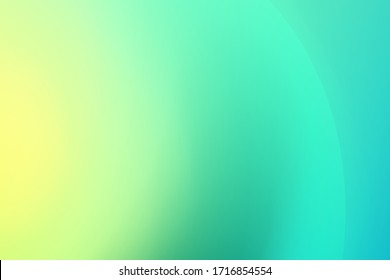 soft blue and green  vector blurred pattern. Colorful illustration in abstract style with gradient mesh. Abstract nature blurred background. Ecology concept for your graphic design,wallpaper. vector