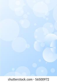 Soft bubbles background