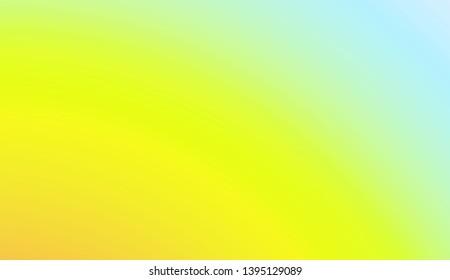 Soft Color Gradients. For Your Bright Website Pattern, Banner Header. Vector Illustration