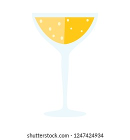 soft drink icon. Flat illustration of vector soda. water or soda isolated on white background. drinks sign symbol