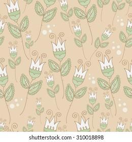 Soft flower pattern