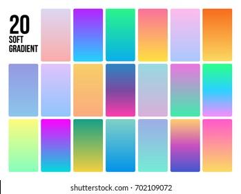 Soft Gradient Colors
