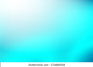 soft light blue vector blurred pattern. Abstract teal background. Blurred turquoise water backdrop. Vector illustration for your Wallpaper, Banner, Background, Card, Book Illustration, landing page