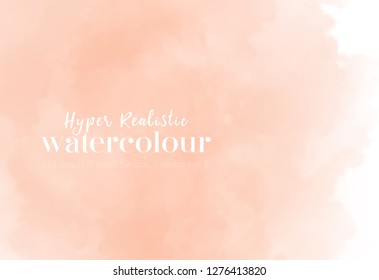 soft pastel wallpaper. coral splash. trendy gradient background. fluid vector graphic. eps 8 illustration as template for layout composition.