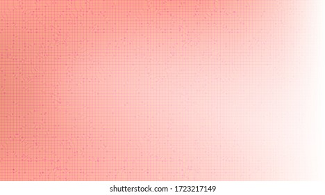 Soft Pink Technology Background,Hi-tech Digital and Communication Concept design,Free Space For text in put,Vector illustration.