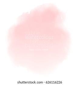 color de agua rosa suave