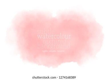 soft pink watercolor background. vector eps 8