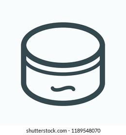 Soft soap vector icon