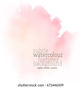 soft watercolor splash