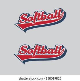 Softball Sport Tail