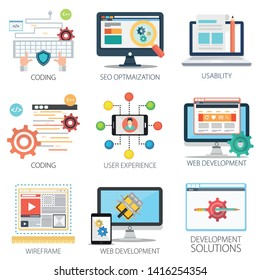 Software development, SEO Optimization, Coding, Web development, App or application development