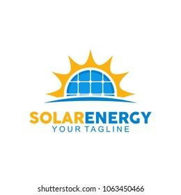 Solar Energy Logo Design