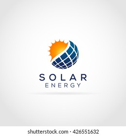 Solar Energy Logo Icon