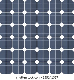 Solar panels as a background