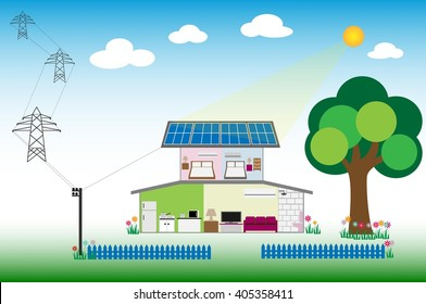 Solar for renewable energy concept