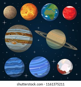 The Solar System is the gravitationally bound system of the planets and the Sun plus other objects that orbit it, either directly or indirectly.