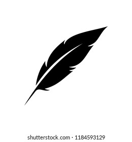 solated Nib Icon. Plume Vector Element Can Be Used For Nib, Feather, Pen Design Concept