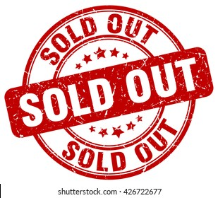sold out. stamp