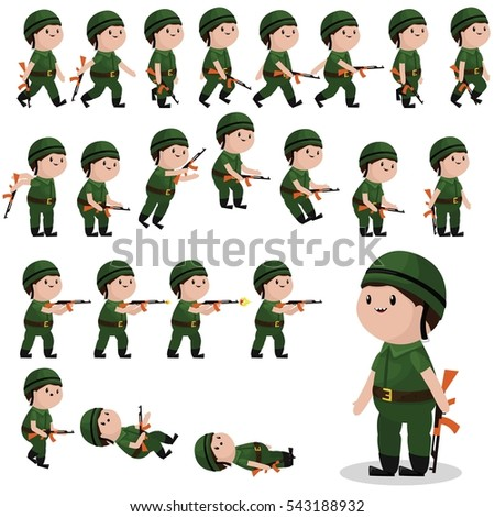 free soldier games