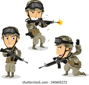 Cartoon Soldiers Images, Stock Photos & Vectors | Shutterstock