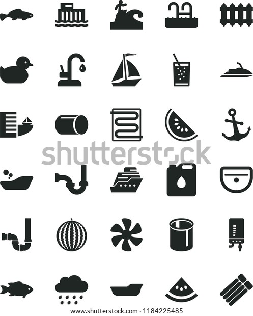 Download Clip Art - Black And White - Fish ICON Transparent PNG