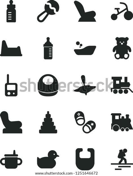 Surprising Solid Black Vector Icon Set Mug Stock Vector Royalty Free Machost Co Dining Chair Design Ideas Machostcouk