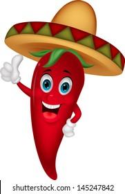 Sombrero Pepper Thumbs Up