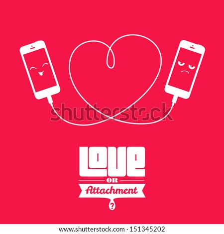 Sometimes We Confuse Real Love Attachments Stock Vector Royalty