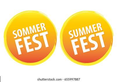 Sommerfest. Summerfest.
