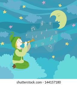 Magic Flute Images, Stock Photos & Vectors | Shutterstock