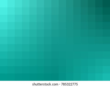Soothing gradient background in teal from the Flat UI palette