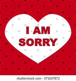 i am sorry images stock photos vectors shutterstock