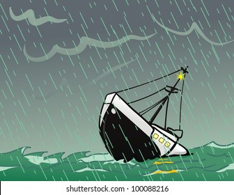 SoS Sinking Ship