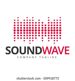 Sound dj music logo. Music icon. Vector