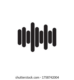 Sound Equaliser Icon Vector Illustration