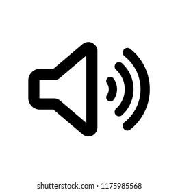 sound icon, volume icon, speaker icon